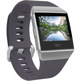 Fitbit Fitbit Fitbit Ionic Watch Blue Grey/White Silver