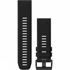 garmin quickfit 26 watch band black silicone