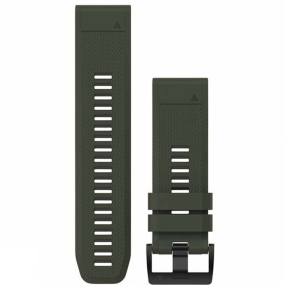 garmin quickfit 26 watch band olive silicone