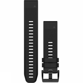 garmin quickfit 22 watch band black silicone