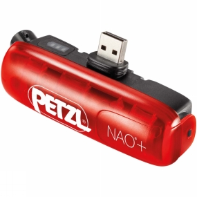 Petzl NAO+ ACCU Rechargeable Batterie Red