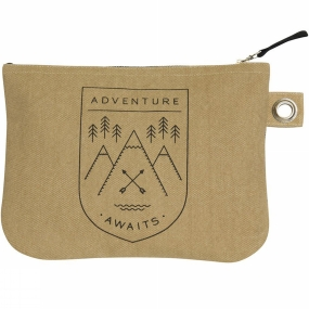 Danica Adventure Awaits Large Zipped Pouch