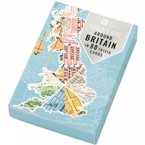 Talking Tables Around Britain in 80 Trivia Cards