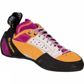 Scarpa Scarpa Womens Techno X Shoe Grey/Dhalia/Yellow