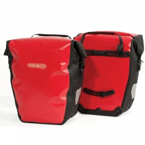 Ortlieb Ortlieb Back-Roller City Pannier (Pair) Red/Black