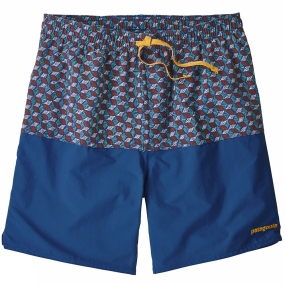 Patagonia Mens Stretch Wavefarer Volly Shorts 17'
