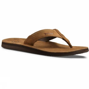Teva Teva Mens Benson Sandal Brown