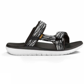 Teva Teva Mens Terra-Float Slide Sandal Tacion Black / Grey