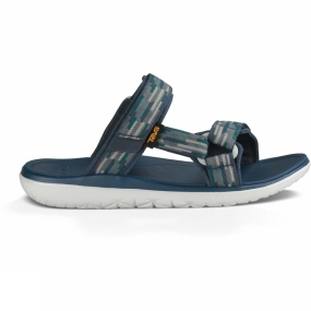 Teva Teva Mens Terra-Float Slide Sandal Tacion Navy