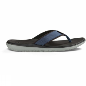 Teva Teva Mens Terra-Float Flip Flop Navy Solid