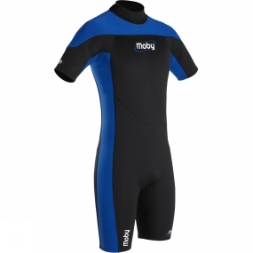 Moby Moby Mens Shorty Wetsuit Black