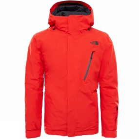 The North Face The North Face Mens Descendit Jacket Centennial Red