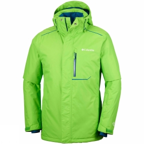 Columbia Columbia Mens Ride On Jacket Cyber Green