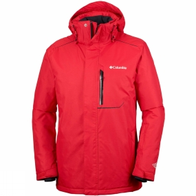Columbia Columbia Mens Ride On Jacket Mountain Red