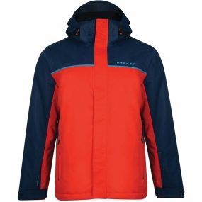 Dare 2 b Dare 2 b Mens Steady Out Jacket Seville Red/Admiral Blue