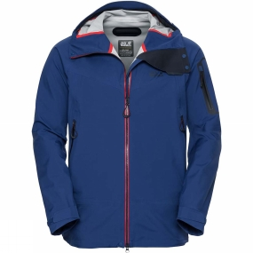 Jack Wolfskin Jack Wolfskin Mens Exolight Slope Jacket Royal Blue