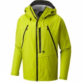 Mountain Hardwear Mountain Hardwear Mens CloudSeeker Jacket Fresh Bud