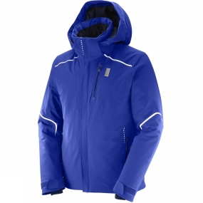 Salomon Salomon Mens Whitelight Jacket Surf The Web