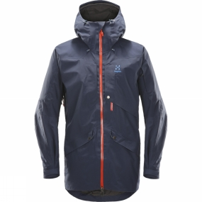 Haglofs Mens Nengal Parka Deep Woods/True Black