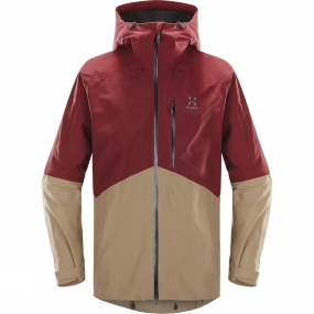 Haglofs The Nengal Jacket is a versatile lined GORE-TEX� two layer jacket without padding, designed and built for skiing in all conditions. It