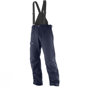 Salomon Salomon Mens Chill Out Bib Pants Night Sky