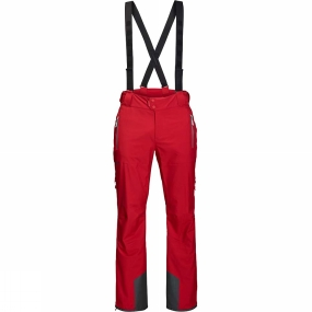 Jack Wolfskin Jack Wolfskin Exolight Slope Pants Ruby Red