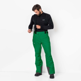 Jack Wolfskin Jack Wolfskin Mens Exolight Pants Forest Green