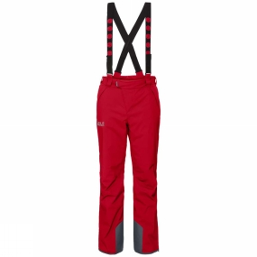 Jack Wolfskin Jack Wolfskin Mens Exolight Pants Ruby Red