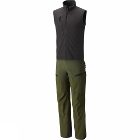 Mountain Hardwear Comfort and performance in one progressive style. The Cloudseeker Bib maximizes heat retention with a fully integrated vest and a slew of other high-performance features.