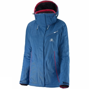 Salomon Salomon Womens Fantasy Jacket Dolomite Blue