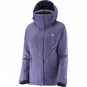 Salomon Salomon Women's Enduro Jacket Daybreak Grey