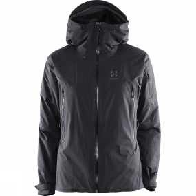 Haglofs Haglofs Women's Pirta Jacket True Black Solid