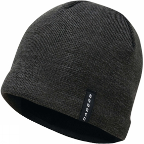 Dare 2 b Mens Prompted Beanie Charcoal Grey