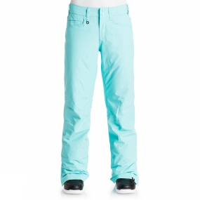 Roxy Roxy Womens Backyard Pant Blue Radiance