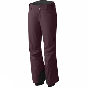 Mountain Hardwear Mountain Hardwear Womens Returnia Insulated Pants Purple Plum