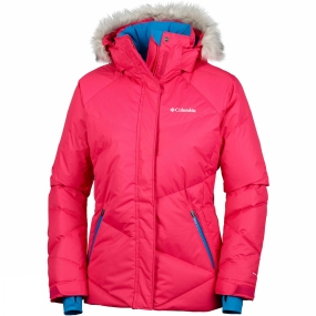 Columbia Columbia Womens Lay 'D' Jacket Punch Pink