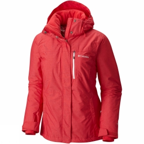 Columbia Columbia Womens Alpine Action Jacket Red Camellia