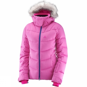 Salomon Salomon Womens Icetown Jacket Rose Violet Heather