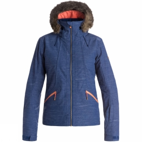 Roxy Roxy Women's Atmosphere Jacket Blue Print