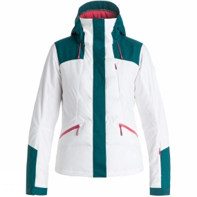 Roxy Roxy Womens Flicker Jacket Bright White