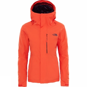 The North Face The North Face Descendit Jacket Fire Brick Red