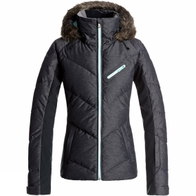 Roxy Roxy Womens Snowstorm Jacket True Black