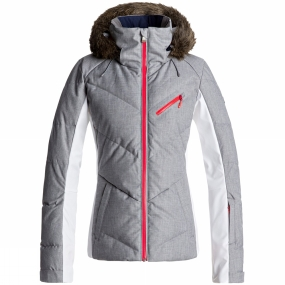 Roxy Roxy Womens Snowstorm Jacket HERITAGE HEATHER