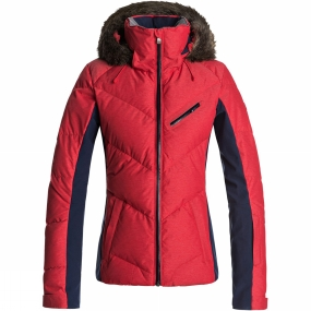 Roxy Roxy Womens Snowstorm Jacket LOLLIPOP
