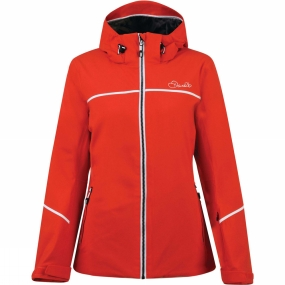 Dare 2 b Dare 2 b Womens Effectuate Jacket HighRisk Red