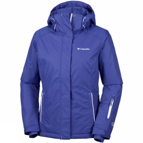 Columbia Columbia Womens On The Slope Jacket Clematis Blue