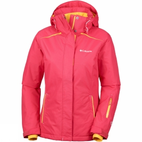Columbia Columbia Womens On The Slope Jacket Red Camellia