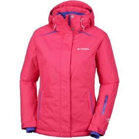Columbia Columbia Womens On The Slope Jacket Punch Pink