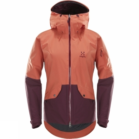 Haglofs This is a classic insulated jacket with 2L GORE-TEX�, designed for skiing, with a clean urban look. Despite the streamlined style, it