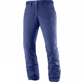 Salomon Salomon Women's Fantasy Pants Medieval Blue Heather